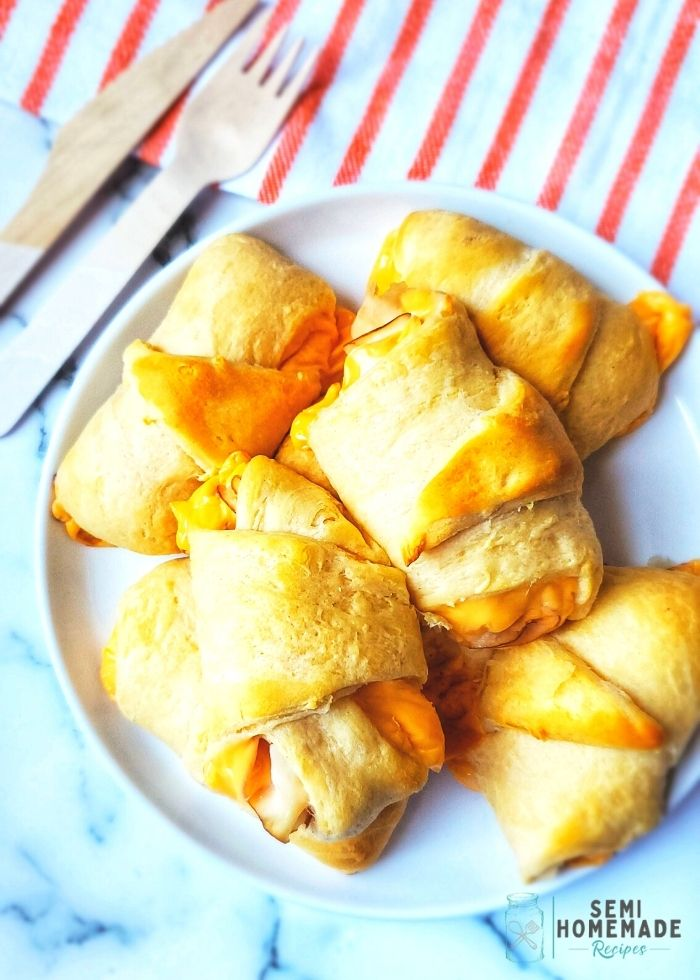 Turkey and Cheese Crescent Rolls