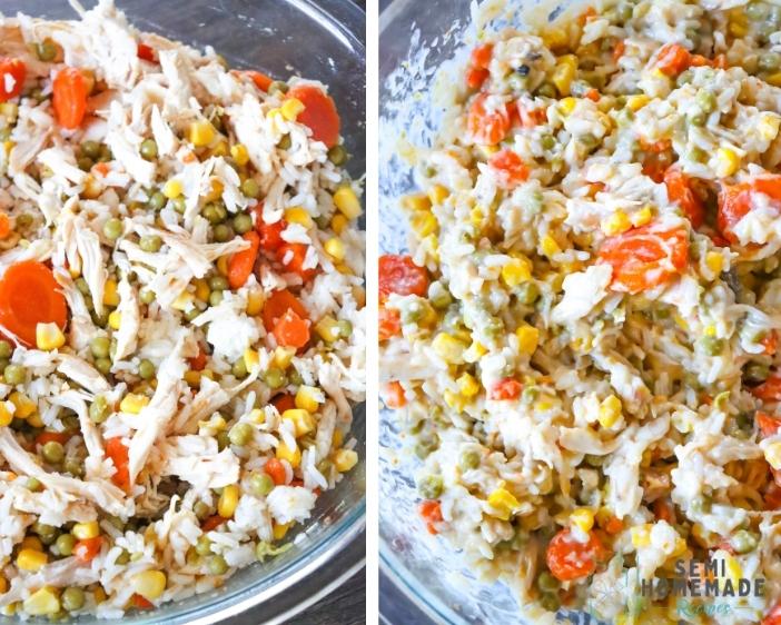 Chicken Pot Pie Mixture