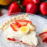 Slice of STRAWBERRY BANANA PUDDING PIE (1)