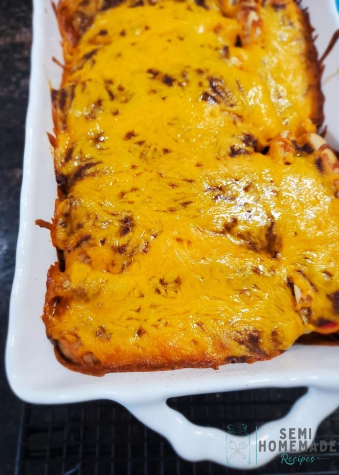 Baked Chili Cheese Dogs (4)