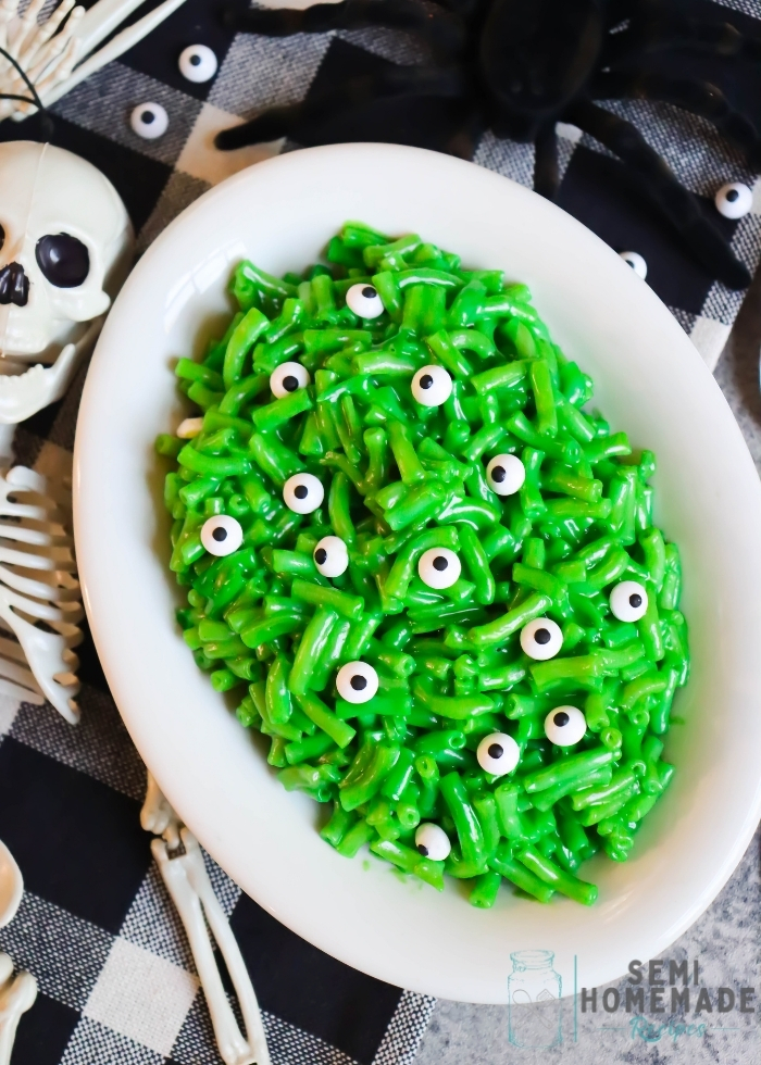 Green Monster mac and cheese