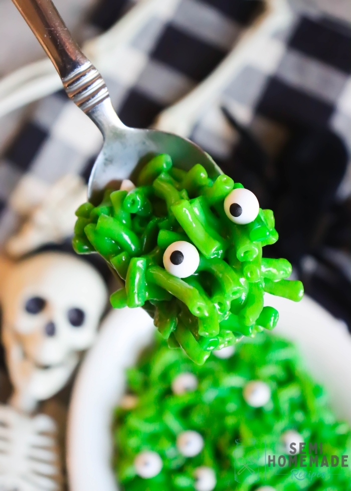 Spoonful of Monster Mac and Cheese